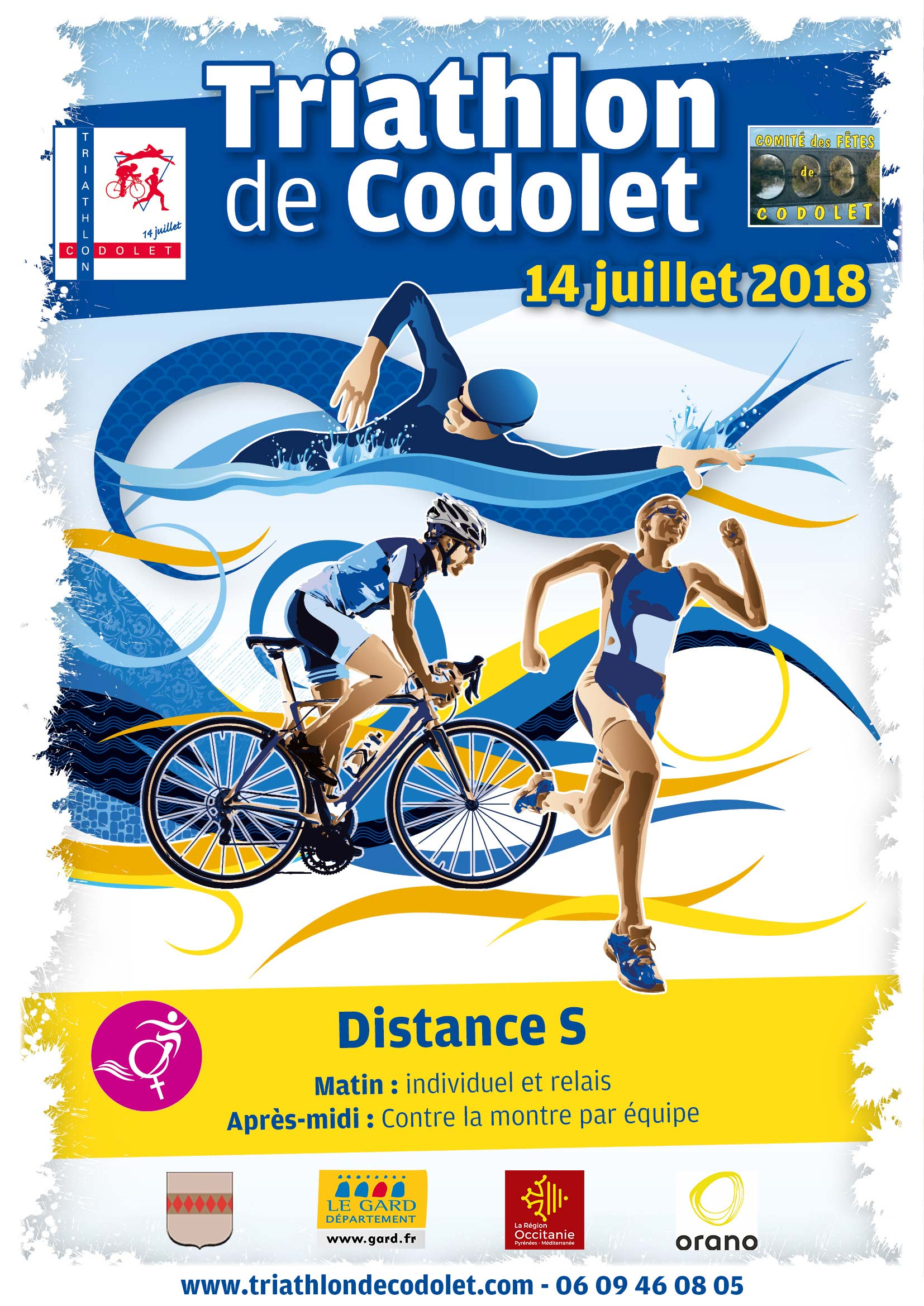 Triathlon de Codolet distance S