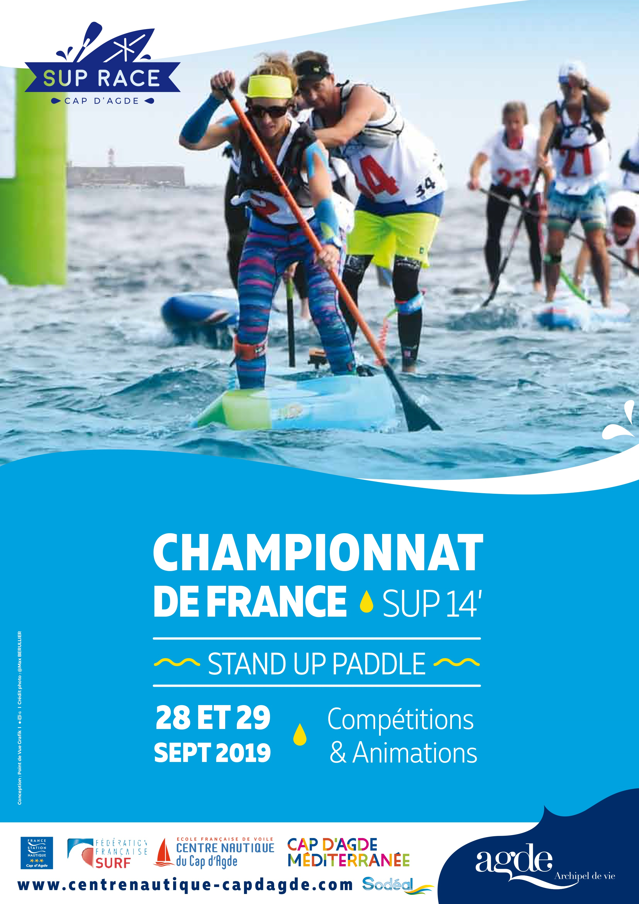 Championnat de France Stand Up Paddle 14' FFS