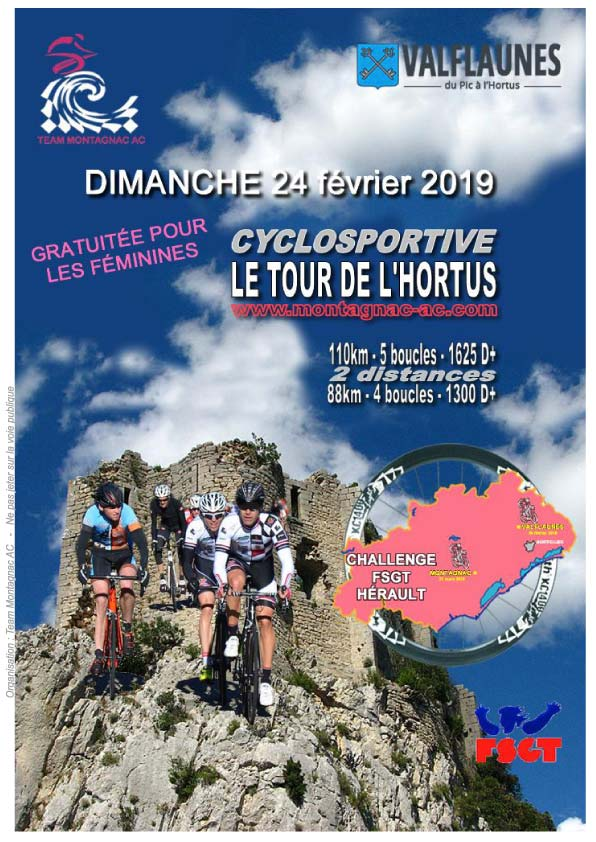 Cyclosportive Tour de l'Hortus